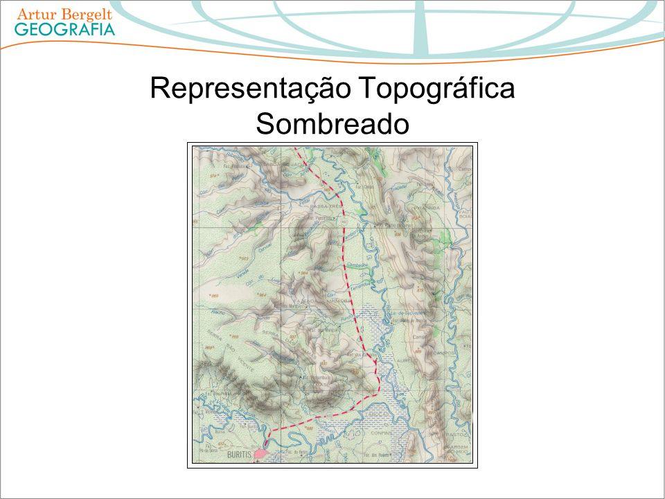 Representação Topográfica Sombreado