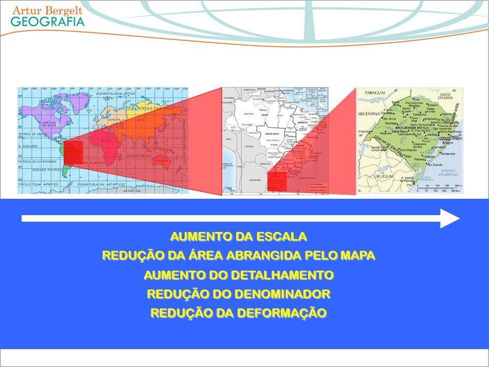 REDUÇÃO DA ÁREA ABRANGIDA PELO MAPA
