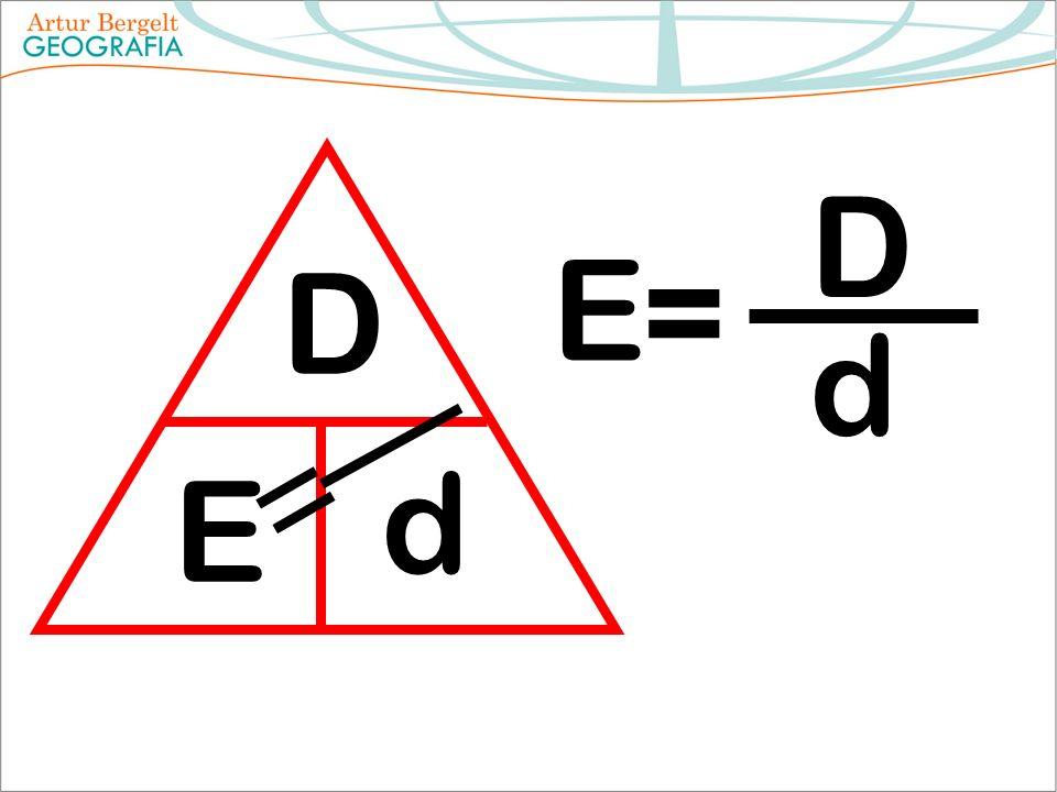 D E d E = D d