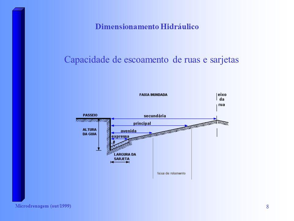 Dimensionamento Hidráulico