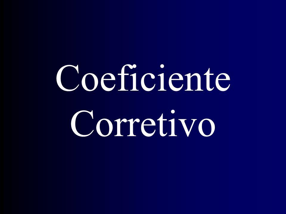 Coeficiente Corretivo