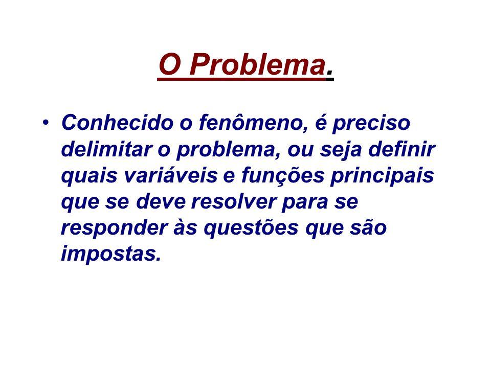 O Problema.