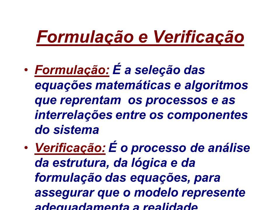 Formulação e Verificação