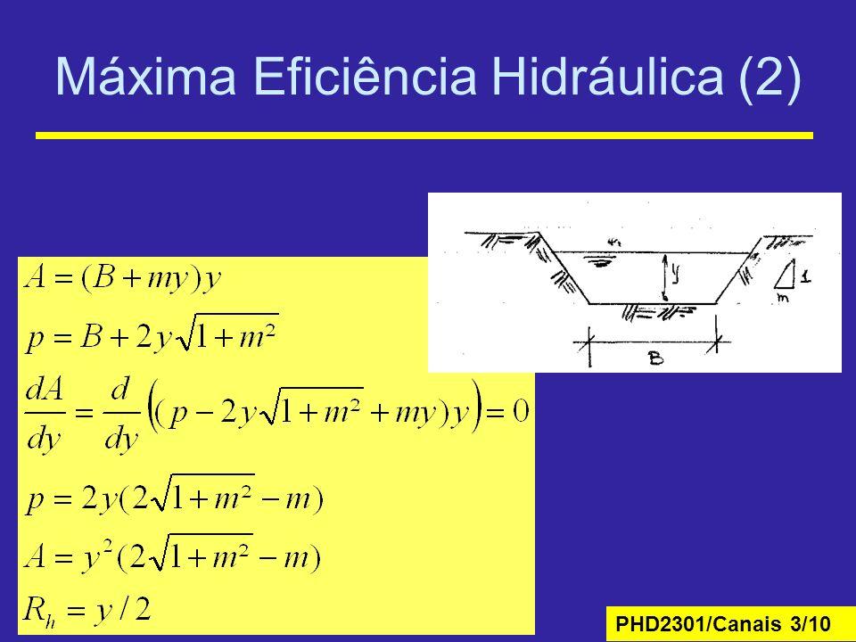 Máxima Eficiência Hidráulica (2)