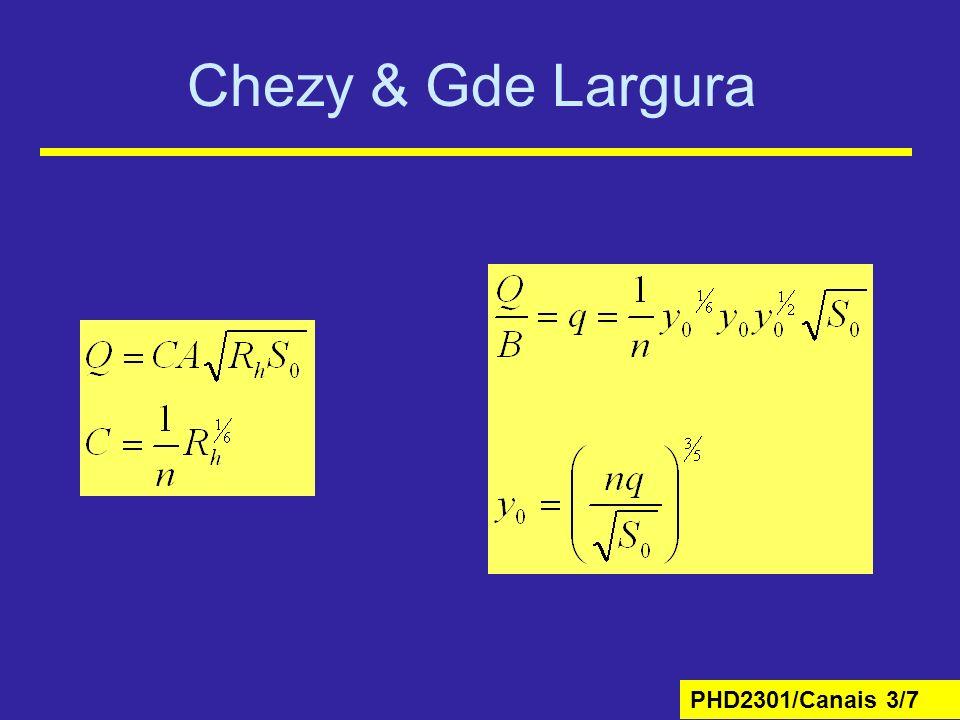 Chezy & Gde Largura