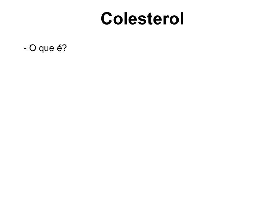 Colesterol - O que é