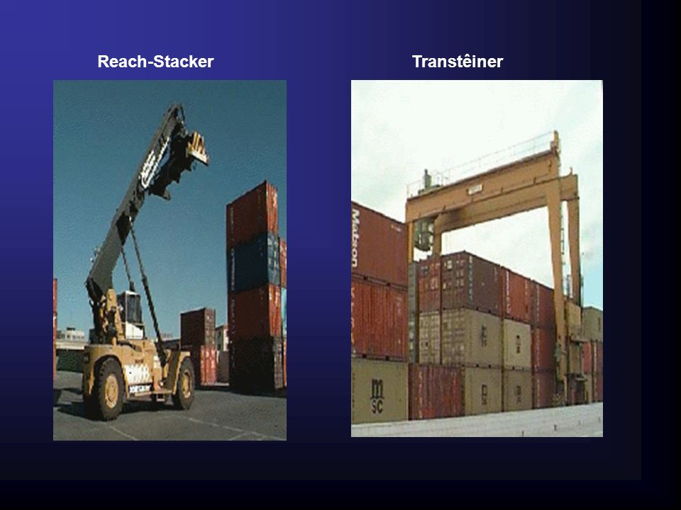 Reach-Stacker Transtêiner 20