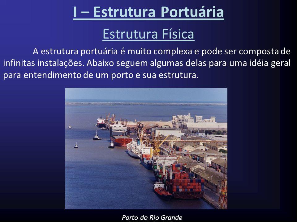 I – Estrutura Portuária