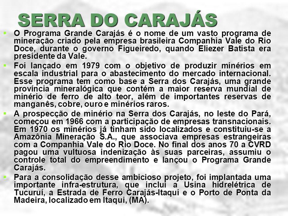 SERRA DO CARAJÁS