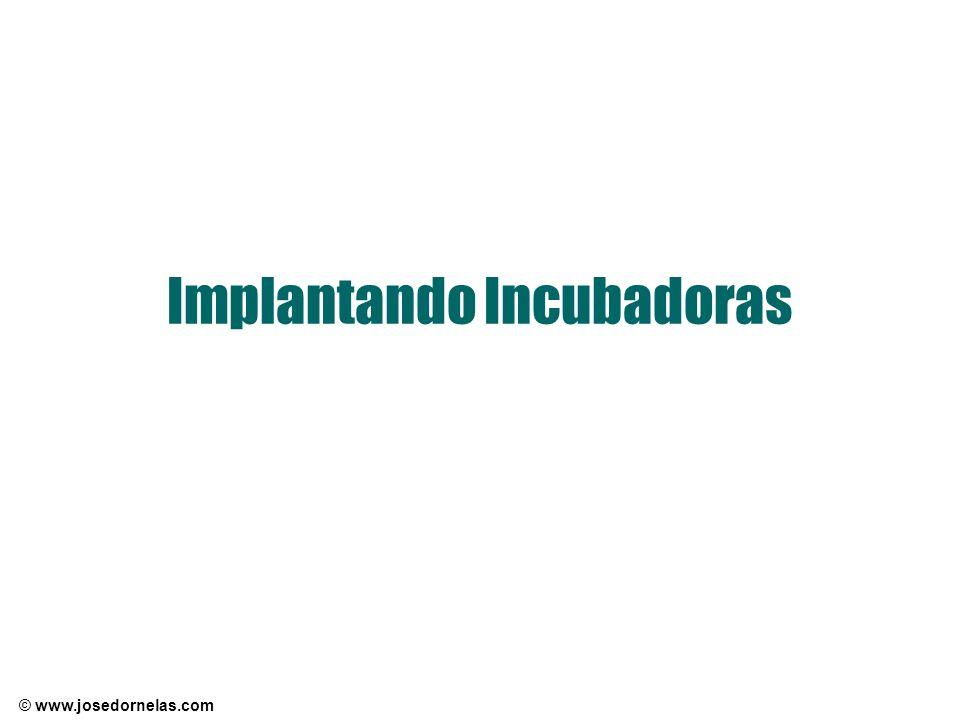 Implantando Incubadoras