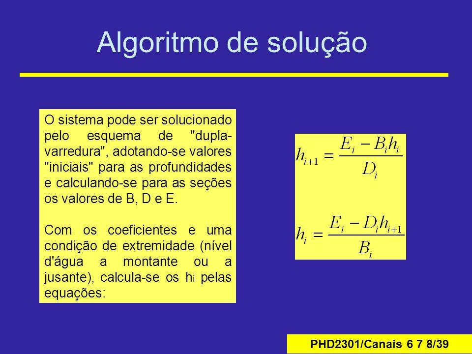 Algoritmo de solução