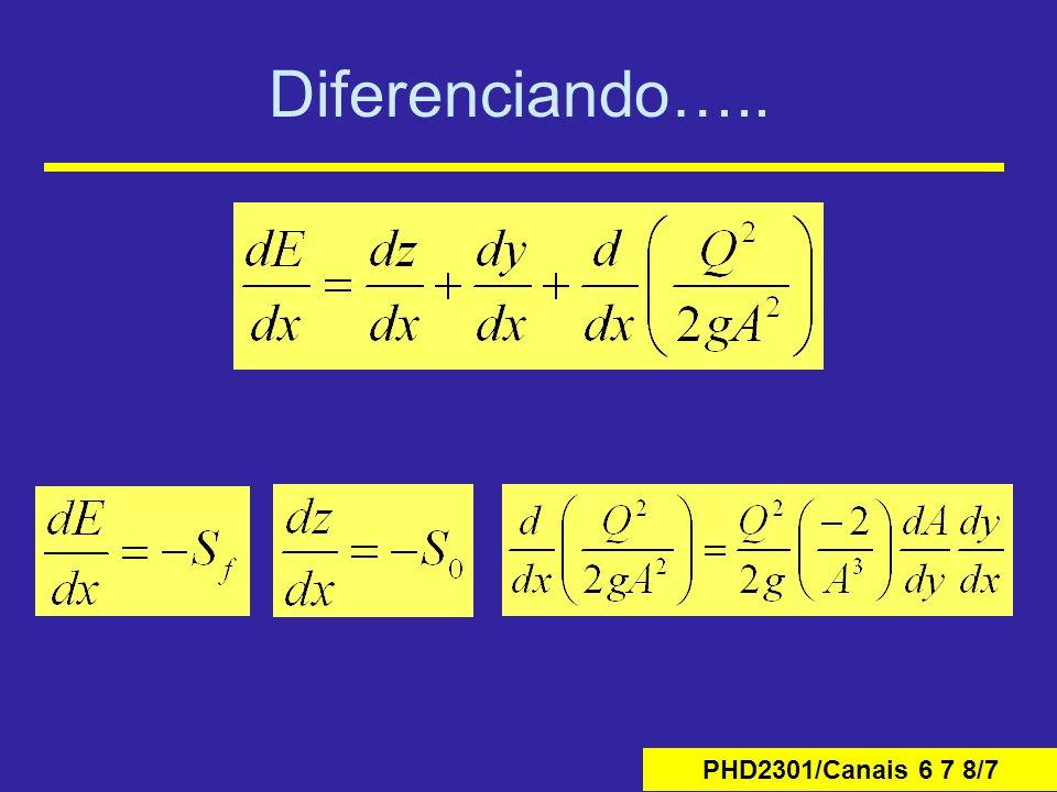 Diferenciando…..
