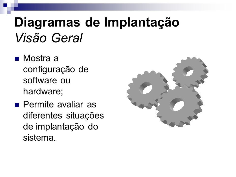 Diagramas de Implantação Visão Geral