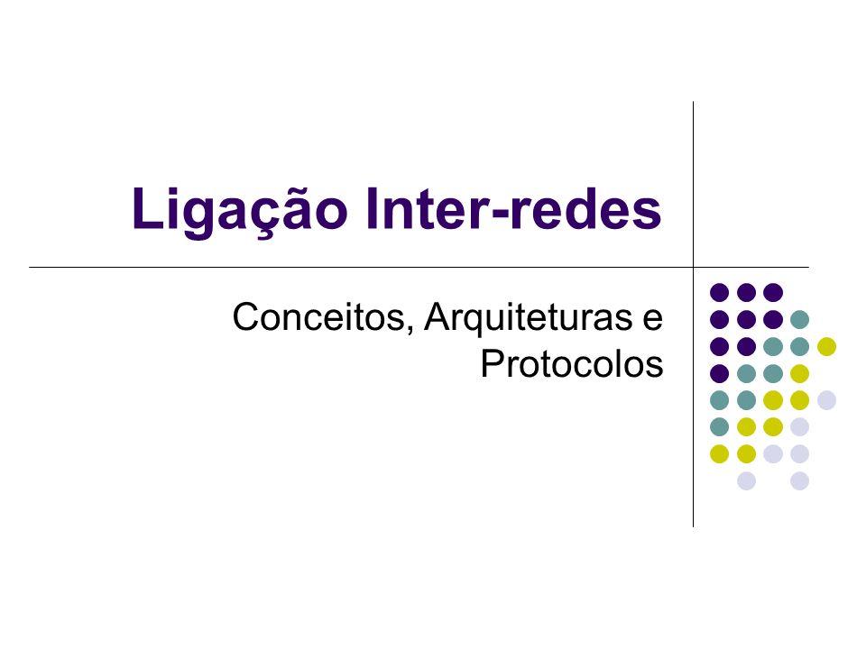 Conceitos, Arquiteturas e Protocolos