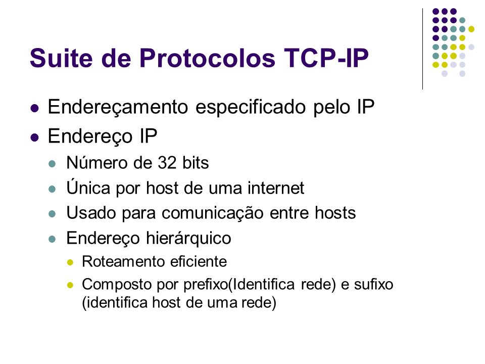 Suite de Protocolos TCP-IP
