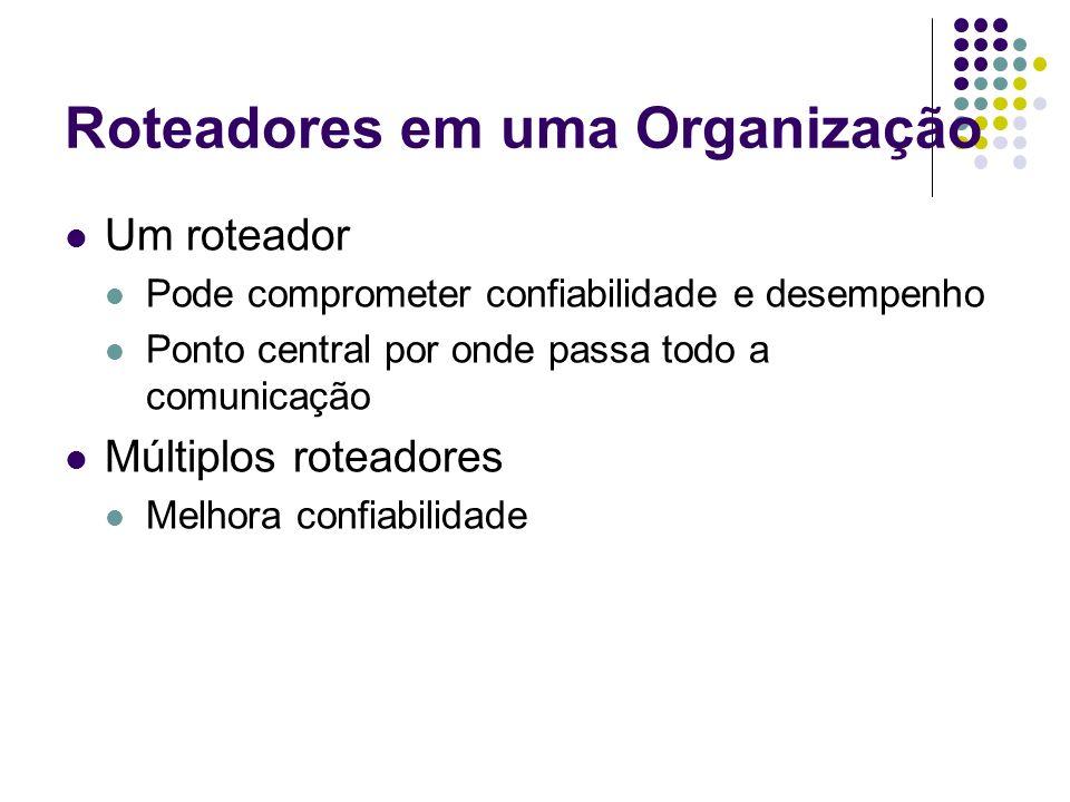 Roteadores em uma Organização