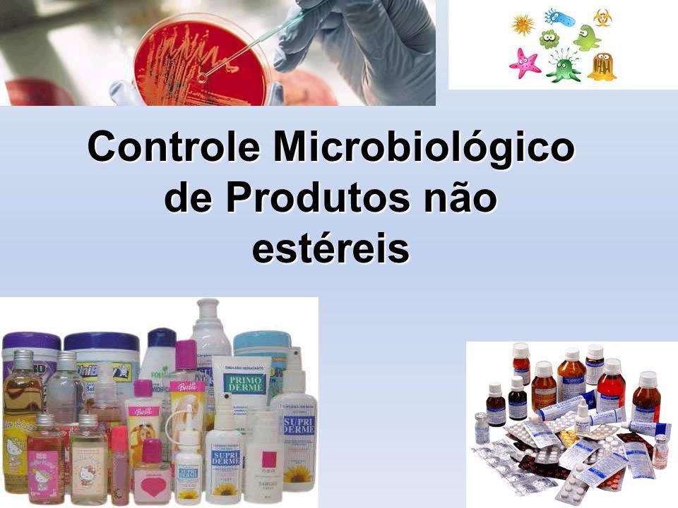 Controle Microbiológico de Produtos não estéreis
