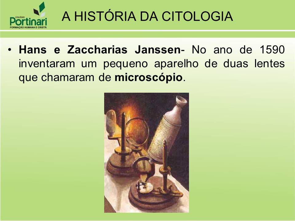 A HISTÓRIA DA CITOLOGIA