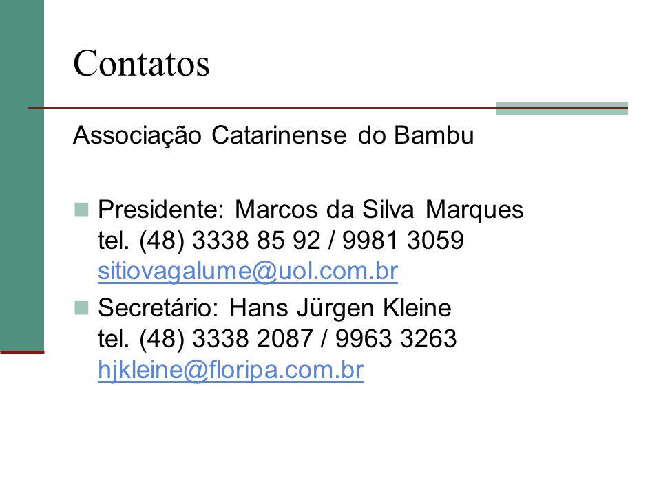 Contatos Associação Catarinense do Bambu
