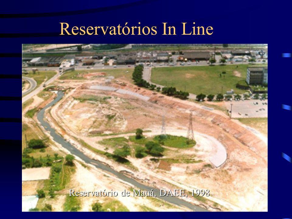 Reservatórios In Line Reservatório de Mauá, DAEE, 1998