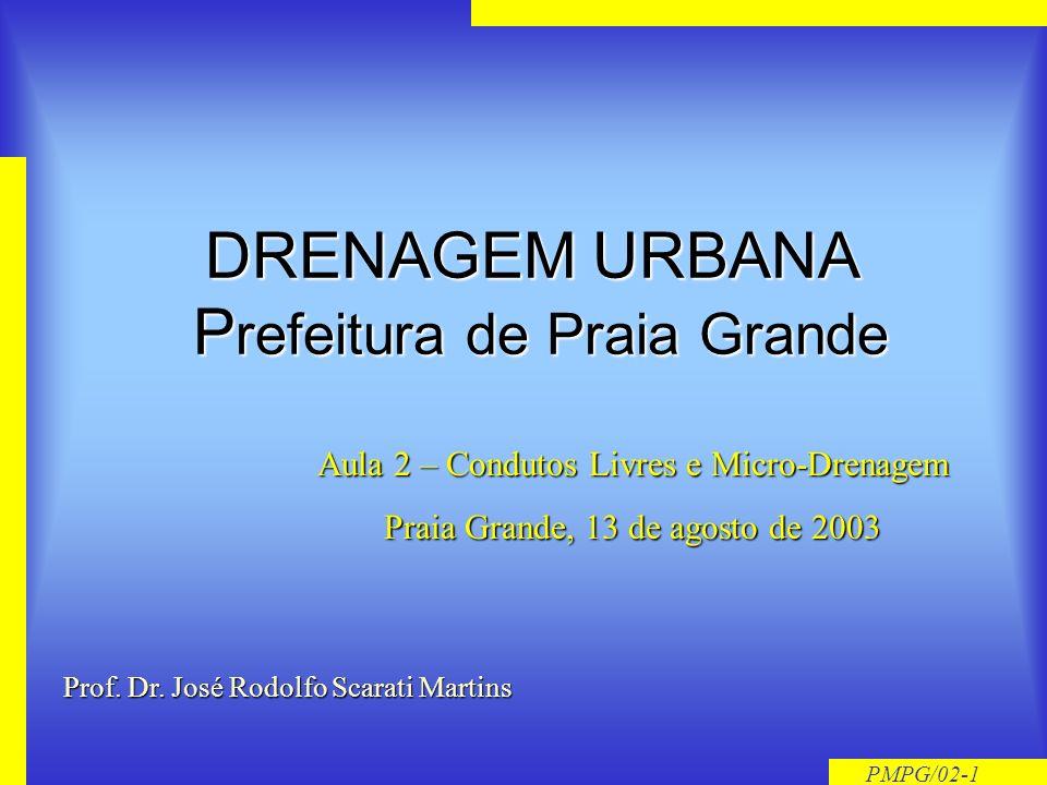 DRENAGEM URBANA Prefeitura de Praia Grande