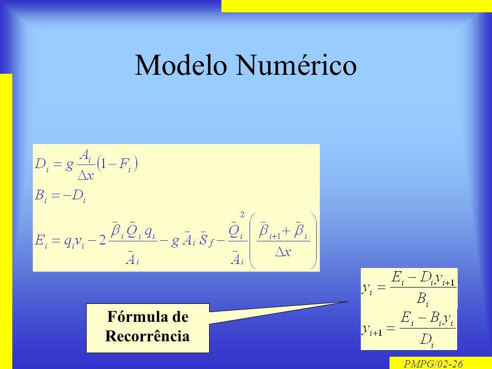 Fórmula de Recorrência