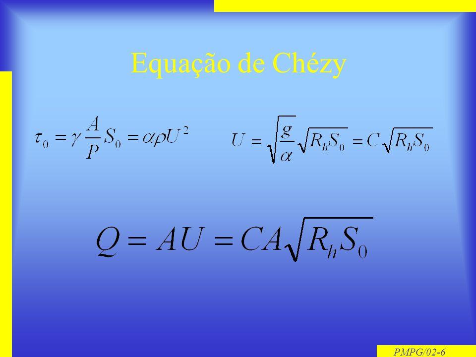 Equação de Chézy