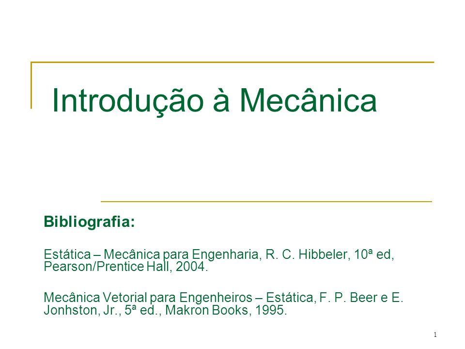 Introdução à Mecânica Bibliografia:
