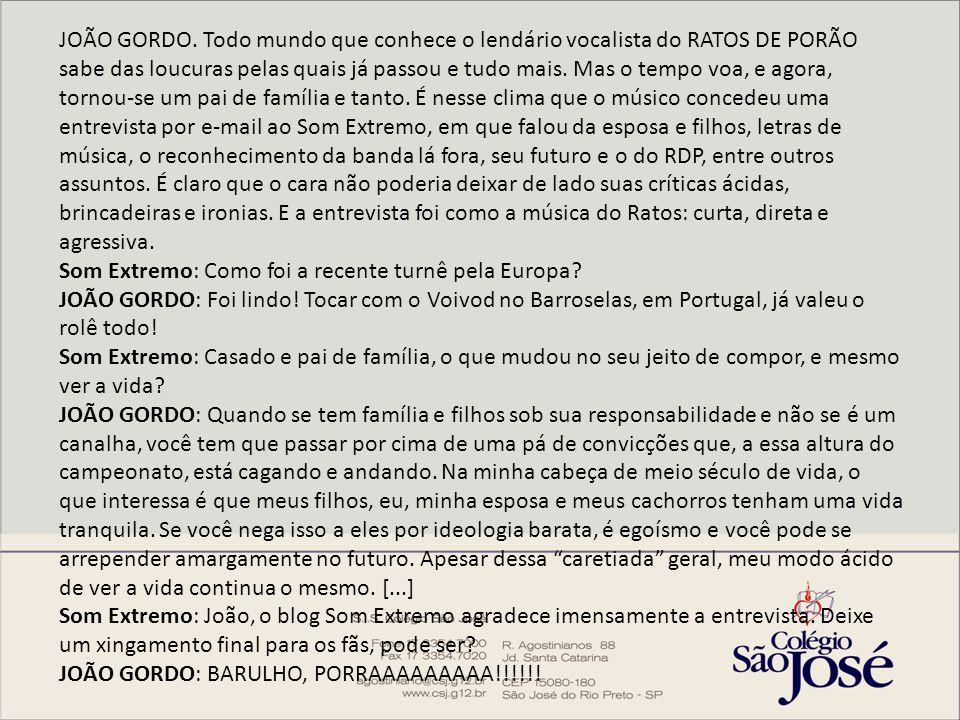 JOÃO GORDO.