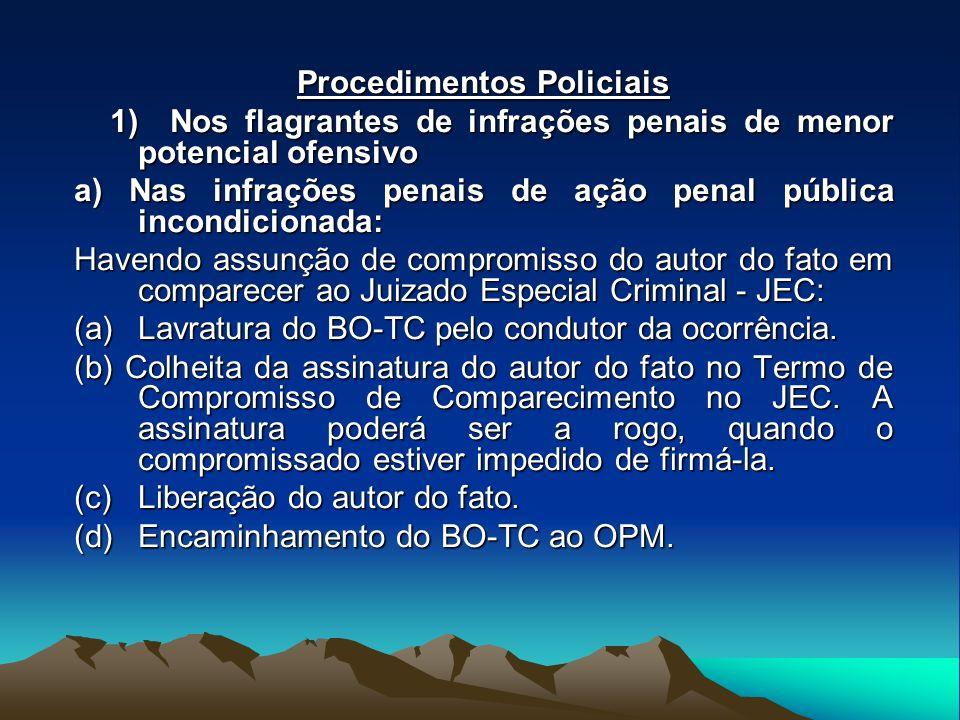 Procedimentos Policiais