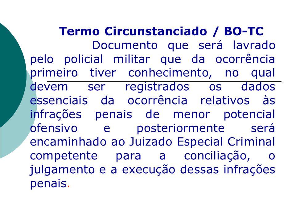 Termo Circunstanciado / BO-TC