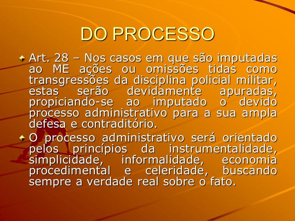 DO PROCESSO