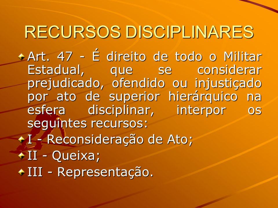 RECURSOS DISCIPLINARES