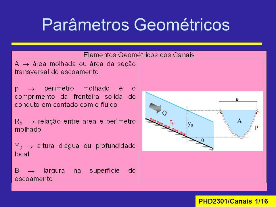 Parâmetros Geométricos