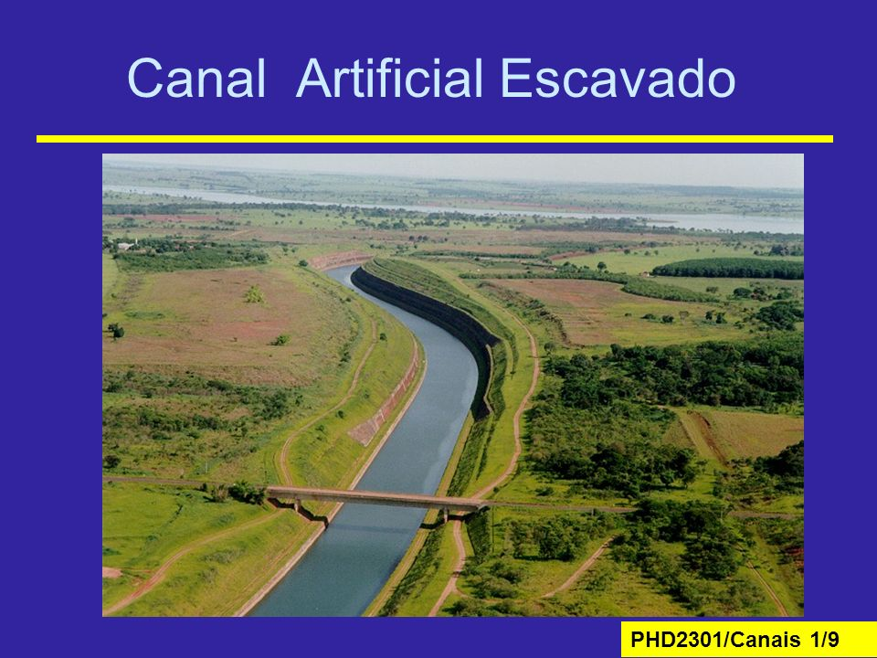 Canal Artificial Escavado