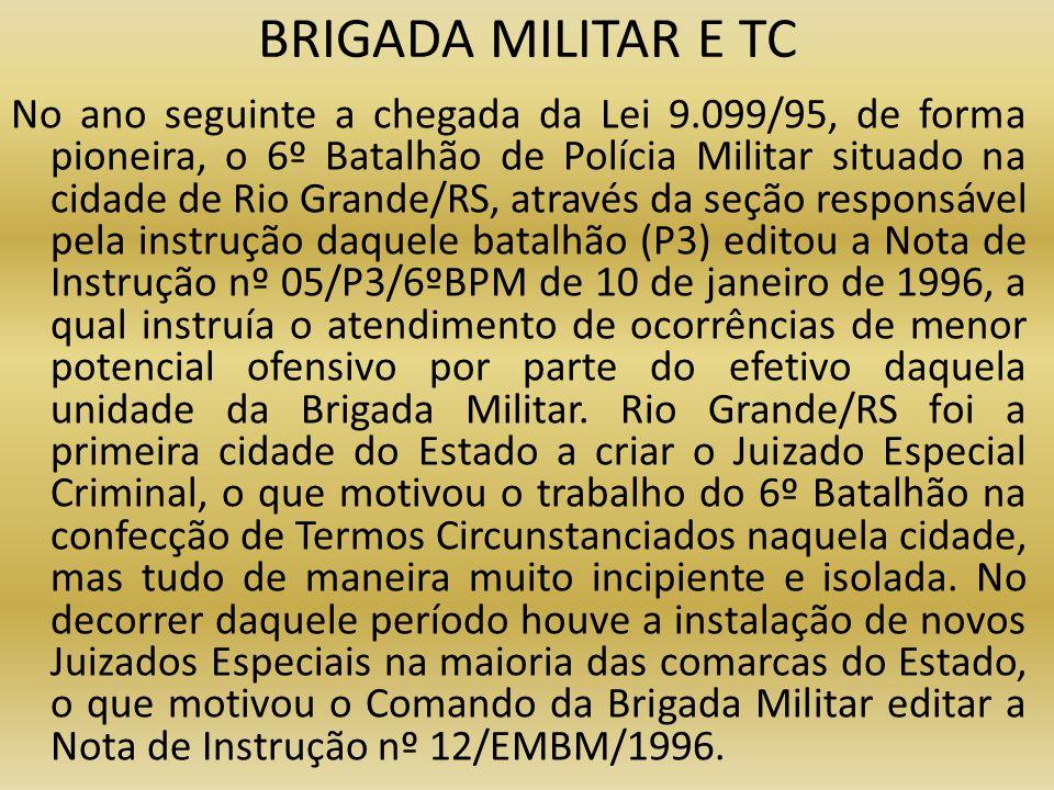BRIGADA MILITAR E TC