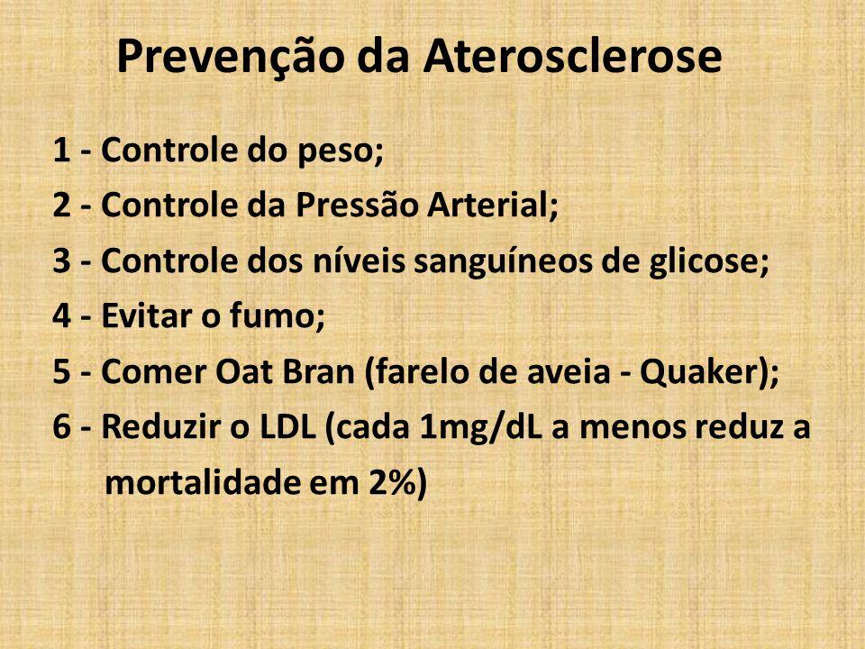 Prevenção da Aterosclerose