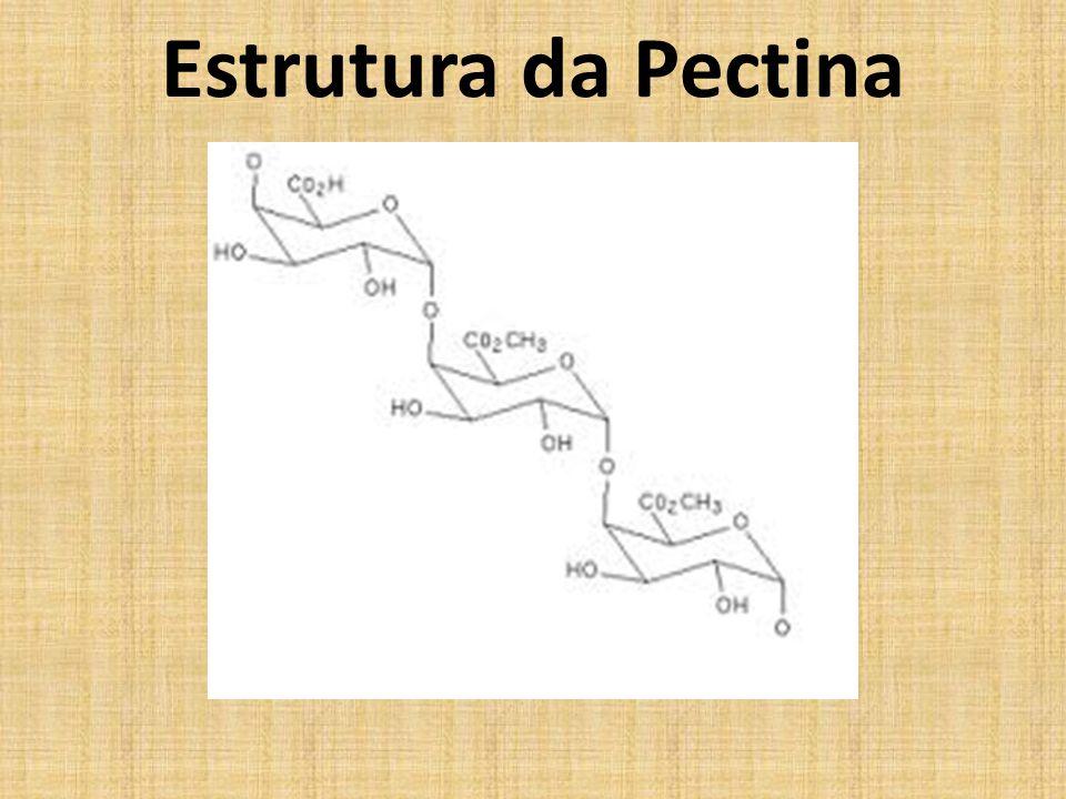Estrutura da Pectina