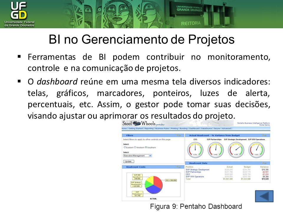 BI no Gerenciamento de Projetos