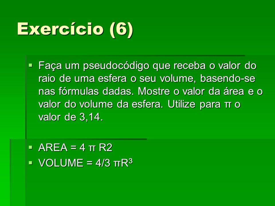 Exercício (6)
