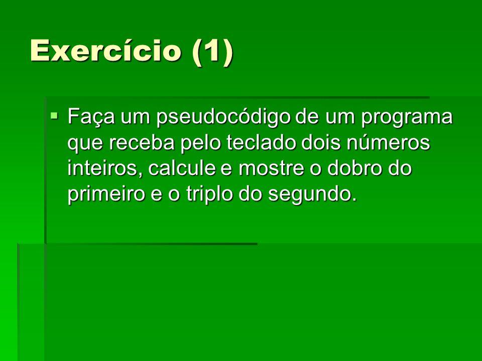Exercício (1)