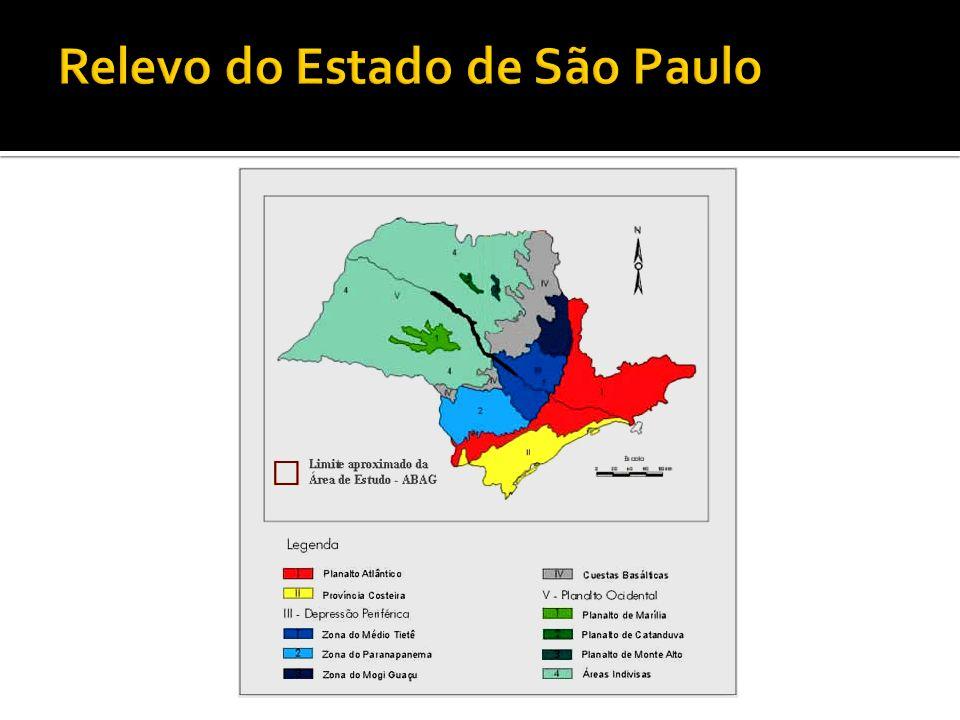 Relevo do Estado de São Paulo