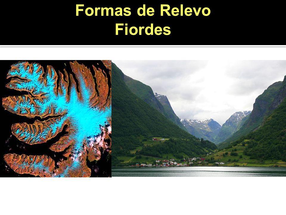 Formas de Relevo Fiordes