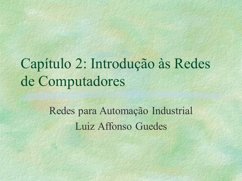 Capítulo 2: Introdução às Redes de Computadores