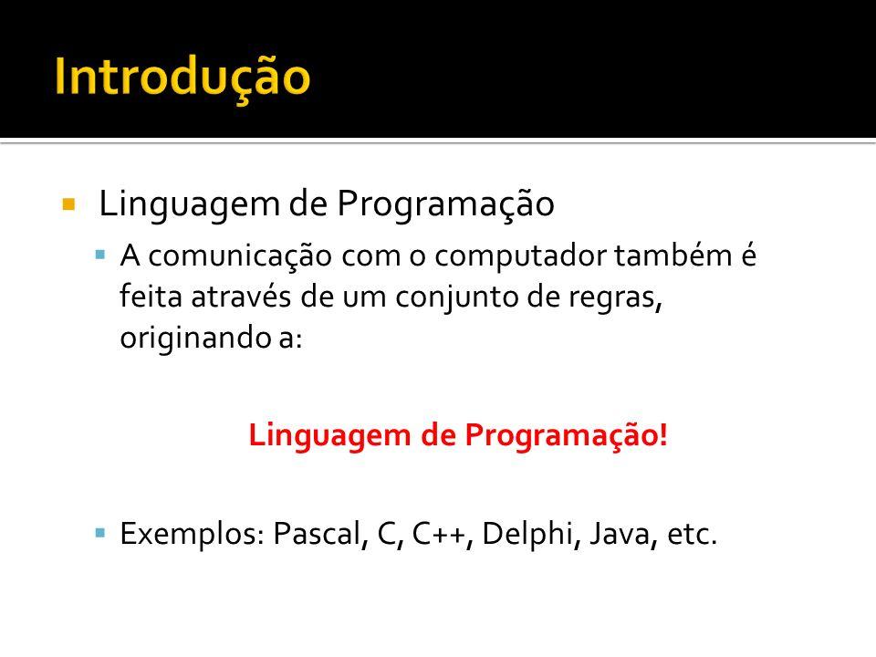 Linguagem de Programação!