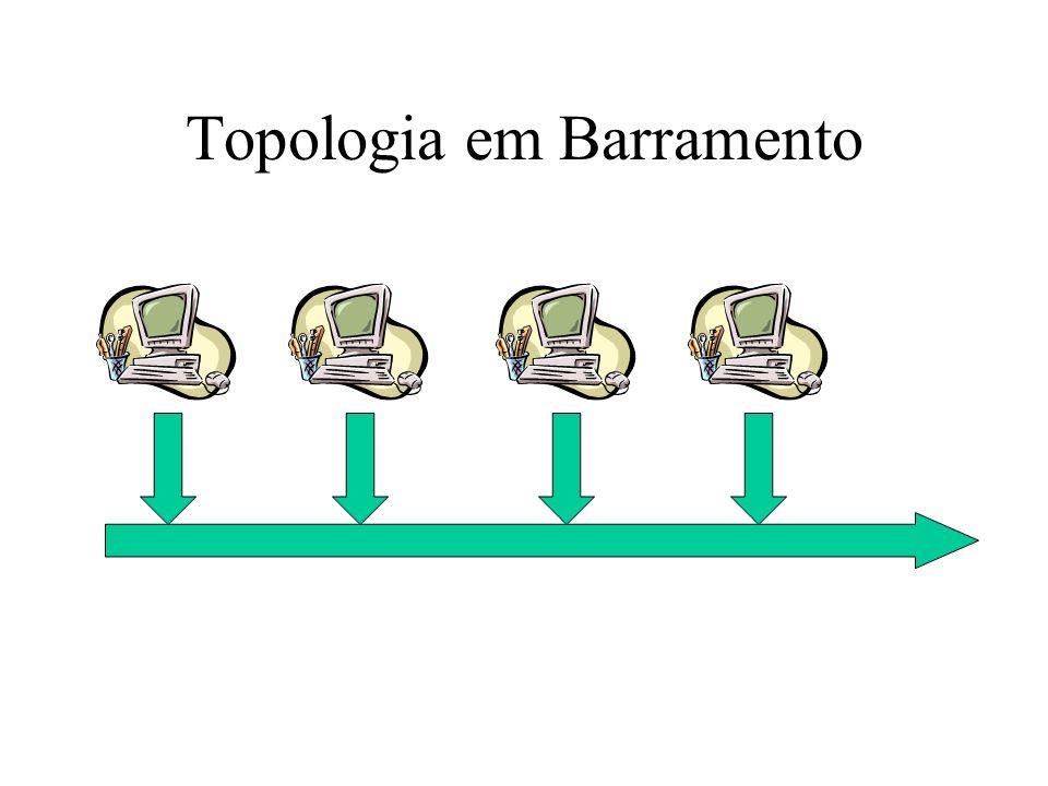 Topologia em Barramento
