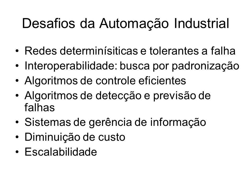 Desafios da Automação Industrial