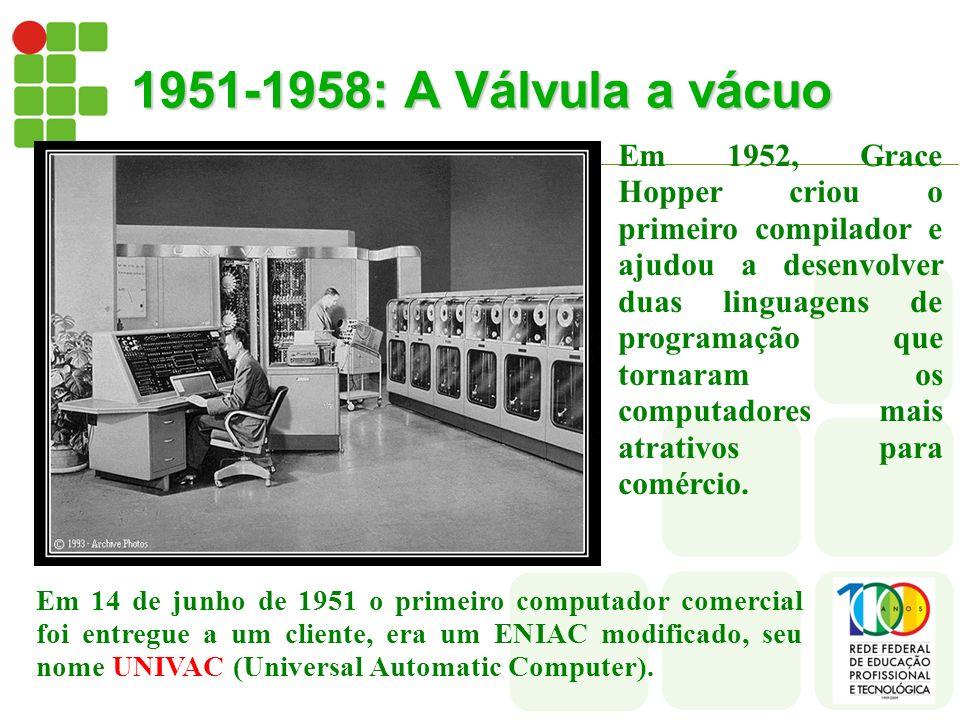 1951-1958: A Válvula a vácuo