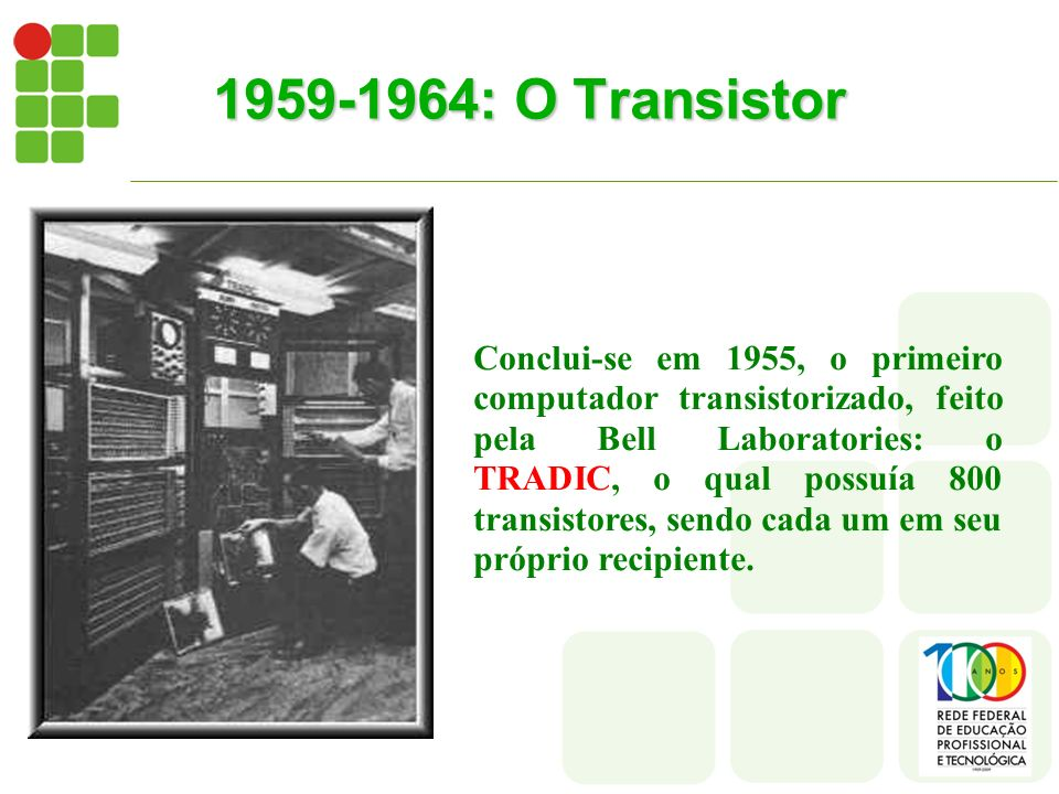 1959-1964: O Transistor