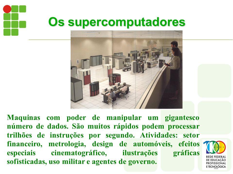 Os supercomputadores